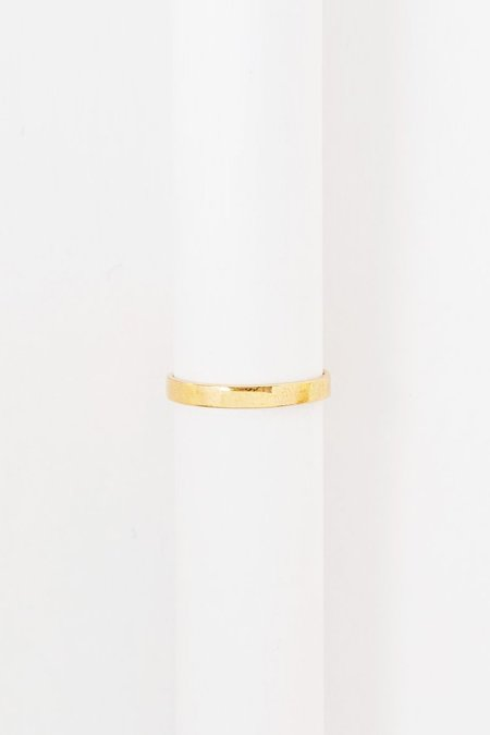 Roucha Thick Gold Band