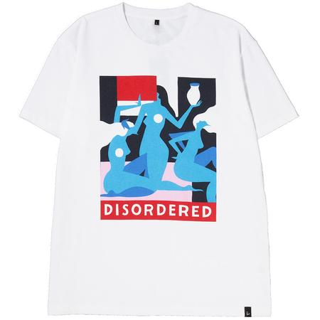 BY PARRA DISORDERED T-SHIRT - WHITE