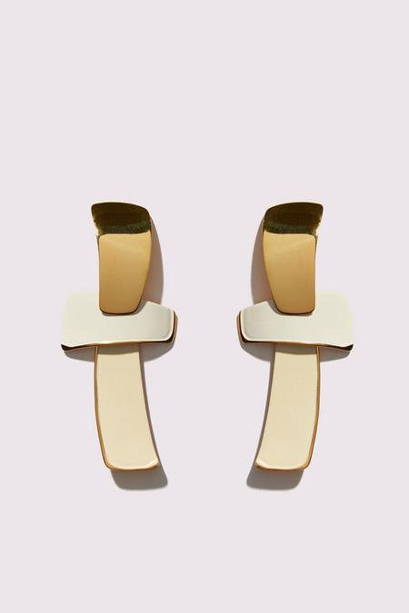 Lizzie Fortunato Ernesto Earrings in Wheat