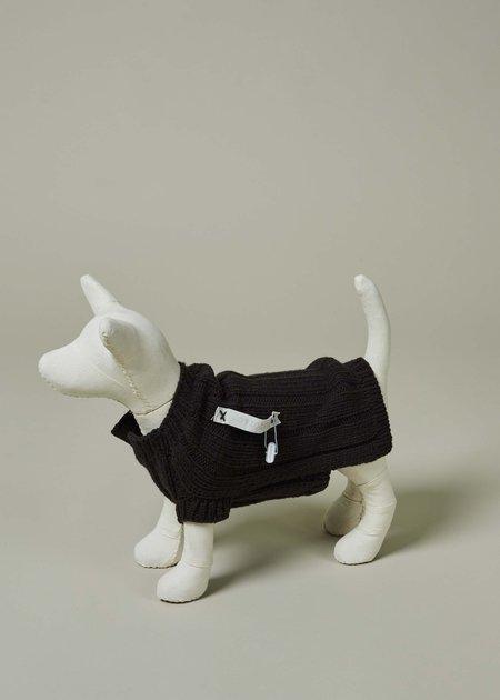 Plutot & C Rib Knit Dog Pullover