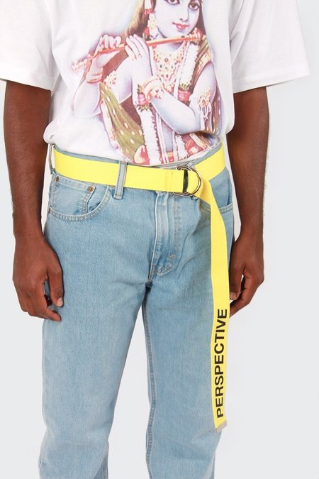 Perks and Mini Perspective Belt - Primary Yellow
