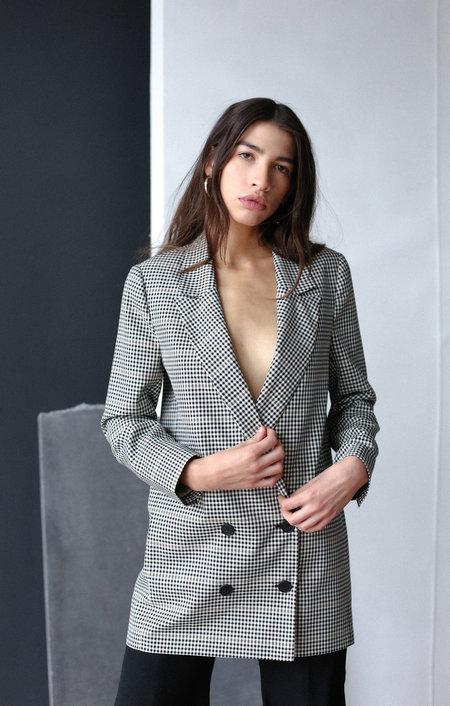 Just Female Holmes Blazer - Check