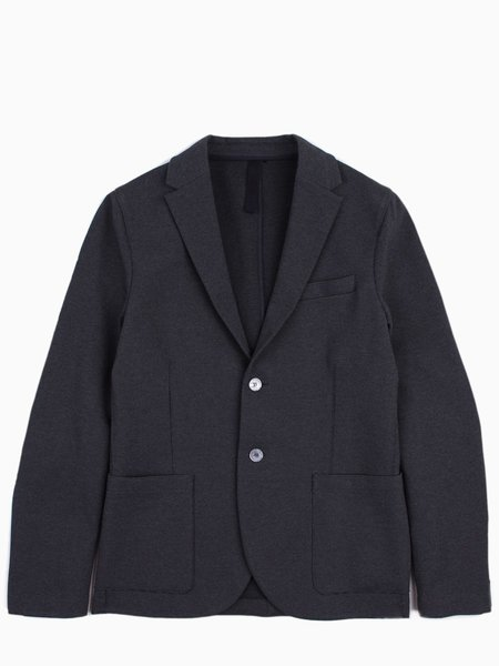 Harris Wharf 2 Button Sartorial Piquet Blazer - Anthracite