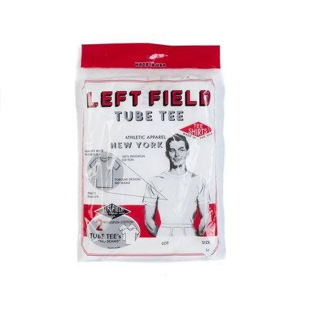 Left Field NYC Tube Tee (2-Pack) - White