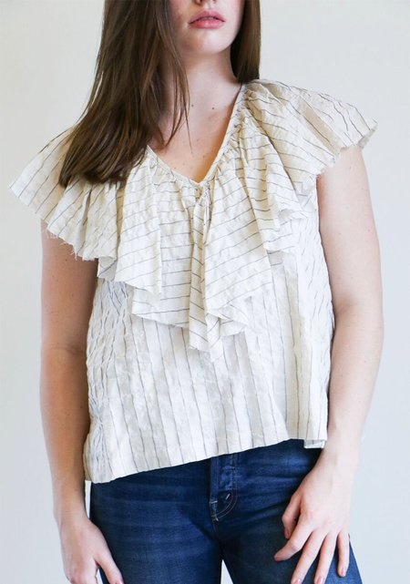Loup Charmant Gaeta Top in Natural