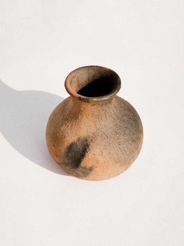 Casia Vintage Handmade Clay Vase