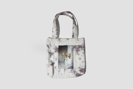 Abby Hutchison Vase Quilt Tote Bag
