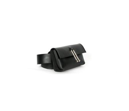 Sonya Lee Jess Belt Bag - Oiled Black Leather