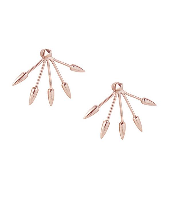 Pamela Love 5 Spike Ear Jacket | Rose Gold