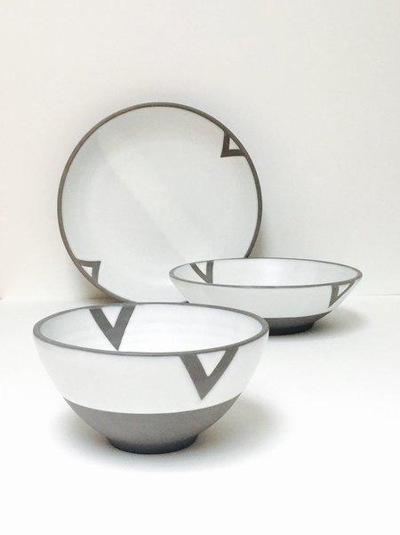 Wolf Ceramics Dinnerware - Geometric Series
