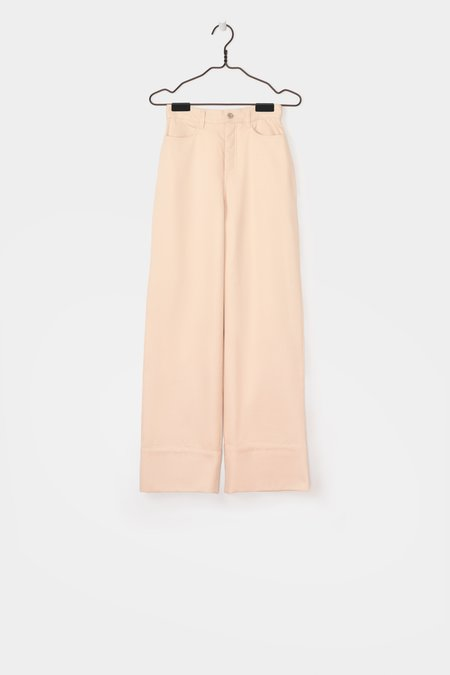 Kowtow Stage Denim Pant - Natural