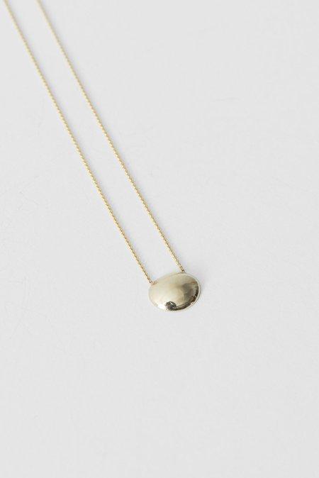 Quarry Horea Necklace in 14k Gold Pendant/18k Gold Chain