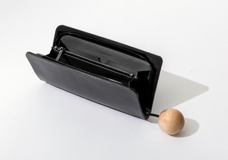 Building Block Book Wallet in Black