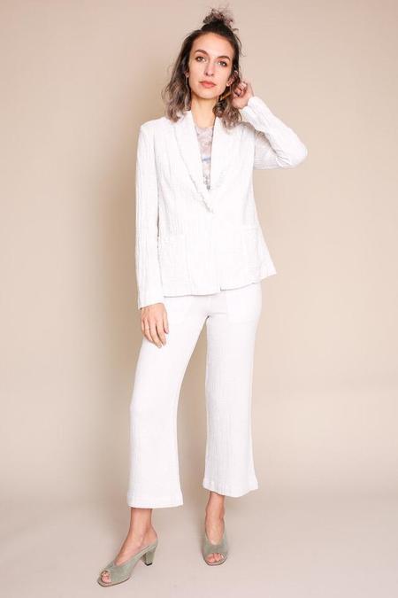 Raquel Allegra Blazer in Dirty White