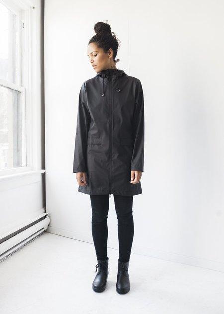 Rains W Coat in Black
