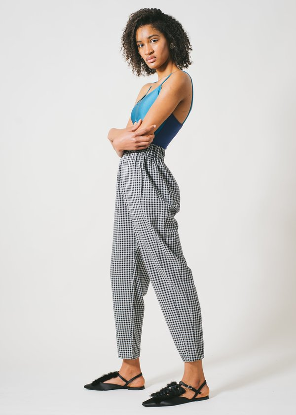 REIFhaus Lou Pant in Gingham