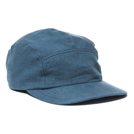 MAPLE Linen Trail Cap - Blue