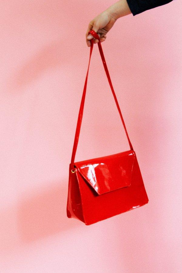 Lykke Wullf Envelope Cross Body - Red