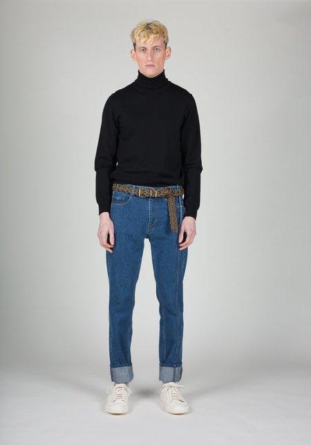 Y/project Calfskin Braided Y Belt