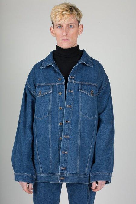 Unisex Y/project Oversized Denim Jacket
