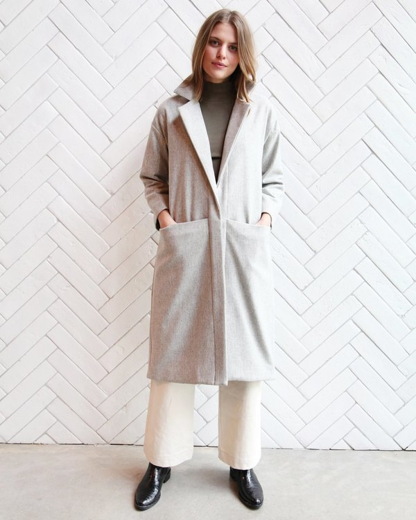 Esby Claire Wool Duster