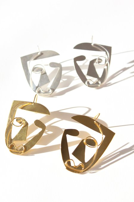 Ellipsee & Masha Reva Face Earrings 1