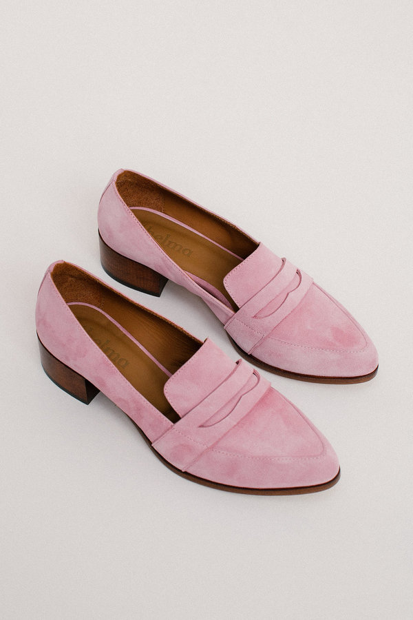 Thelma The Penny Loafer - Orchid