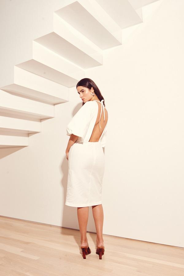 Kamperett Varo Dress in White