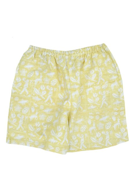PO-EM Ladybug Shorts - Garden
