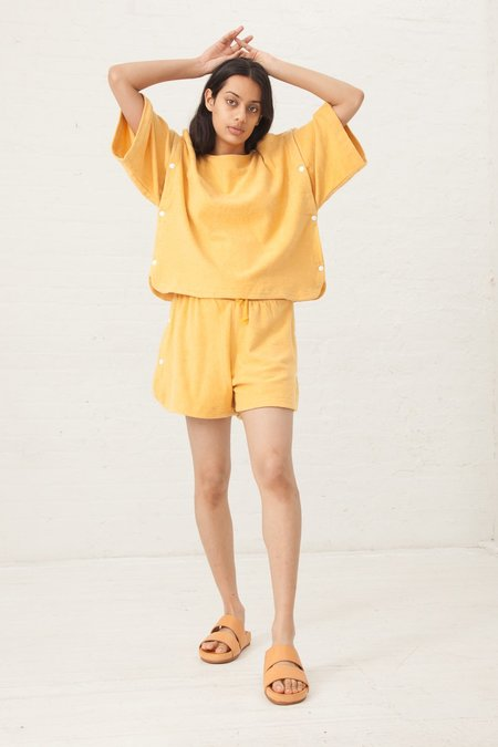 Baserange Solhan Sweat Tee in Ottoman Yellow
