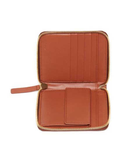 The Stowe Square Wallet in Cognac