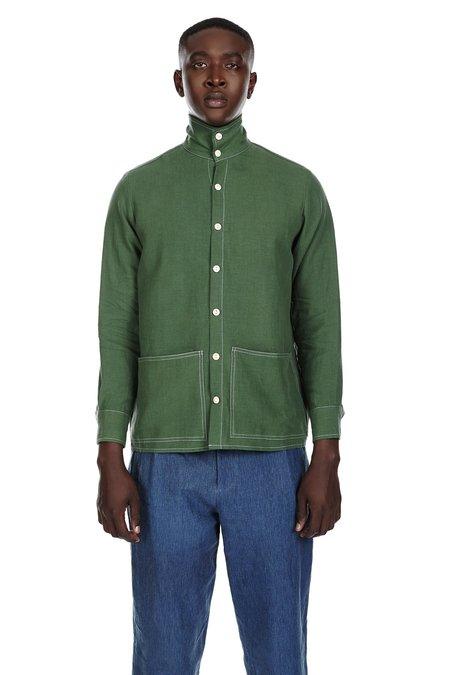 Blluemade Shirt Jacket in Leaf