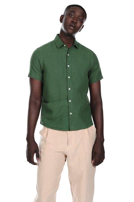 Blluemade Soft Pocket Shirt in Leaf