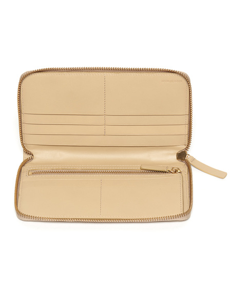 The Stowe Long Wallet in Sand