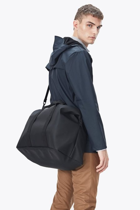Unisex Rains Weekend Bag - Black