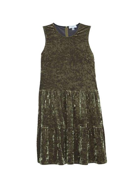 IGWT Alice Dress - Green Velvet