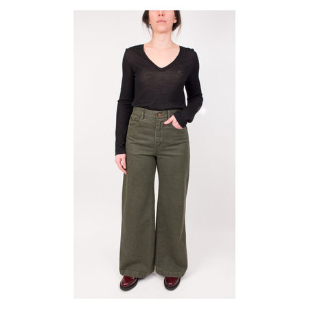 Carleen Nellie Jeans in Sage