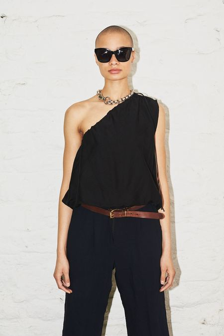 Assembly New York One Shoulder Cinch Top