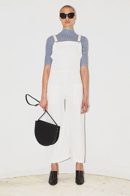 Assembly New York Oversized Cotton Overalls - White