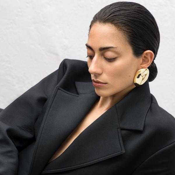AGMES Large Gia Earrings