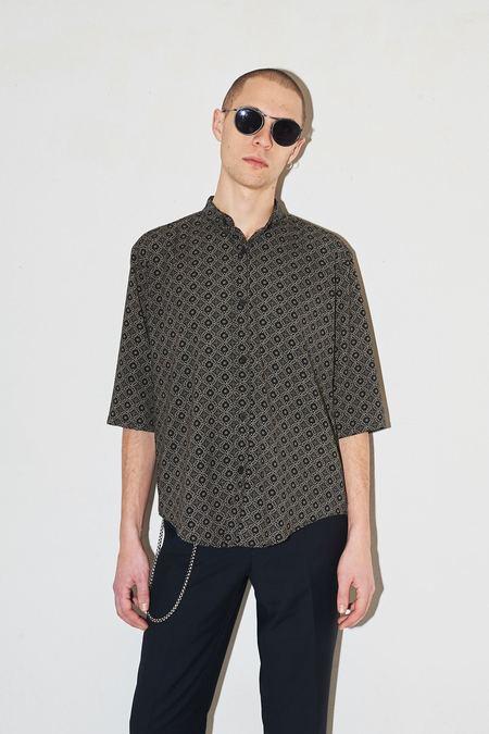 Assembly New York Pajama Print Non Collar Shirt