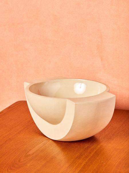 Light + Ladder Saturn Ceramic Bowl - Sand