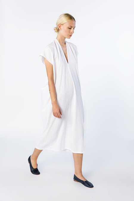 Miranda Bennett Everyday Dress Oversized - Cotton in White