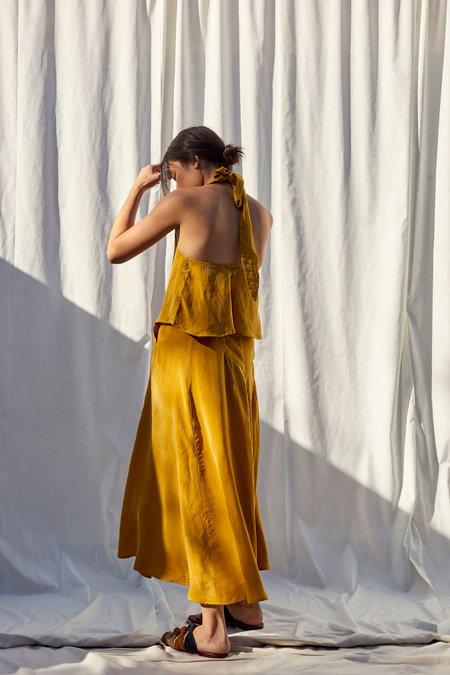 Selva Negra Besito Dress - Mustard