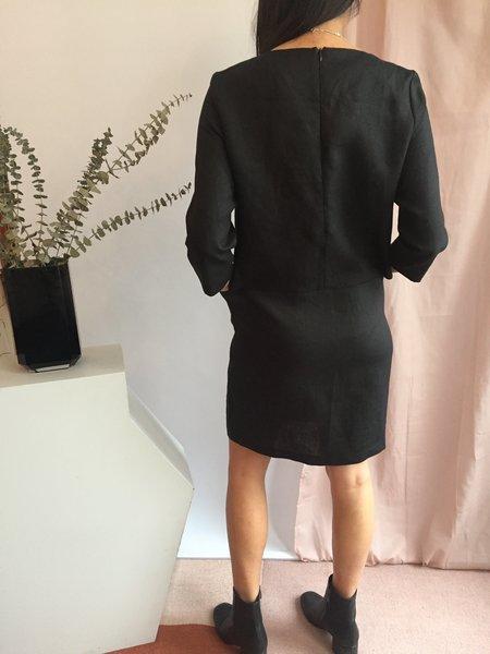 Valérie Dumaine Topaz Dress - Noir