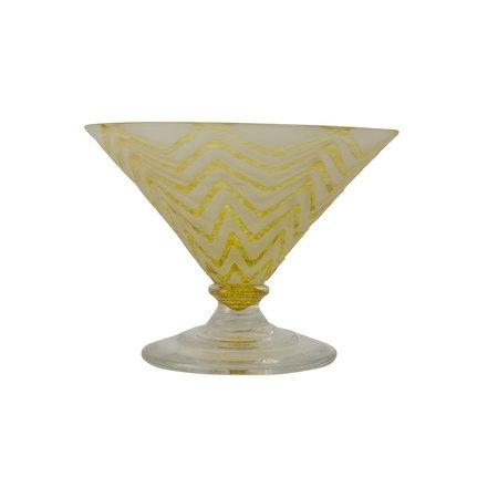 E+M Doodle Sorbet Glass