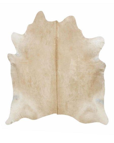 Pied Nu Ivory Longhair Cowhide