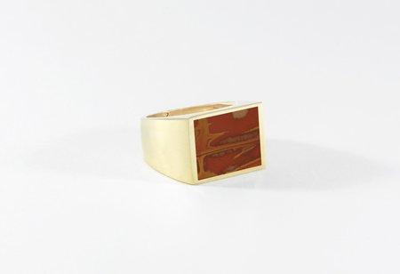 Legier Noreena Jasper Stone Signet Ring