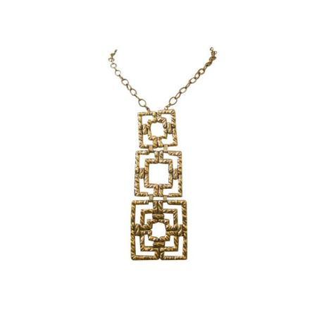 Pied Nu Vintage Necklace Squares