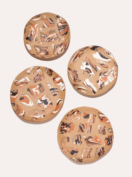 The Pursuits of Happiness Gemstone Dish - Calico
